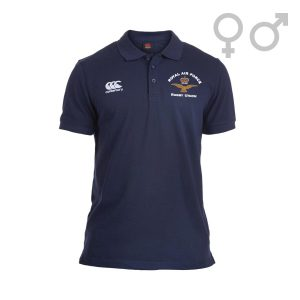 RAF Rugby Union Pique Polo Front