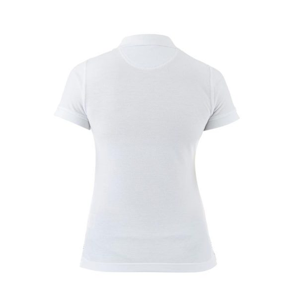 RAFRU Women's Waimak Polo White-954