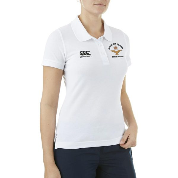 RAFRU Women's Waimak Polo White-952