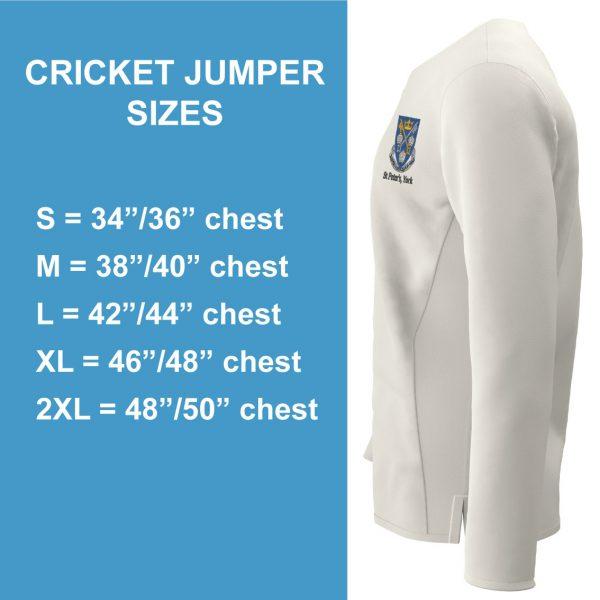 St Peter's Cricket Jumper L/S-1696