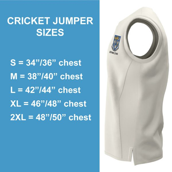 St Peters Cricket Jumper S/S-1698